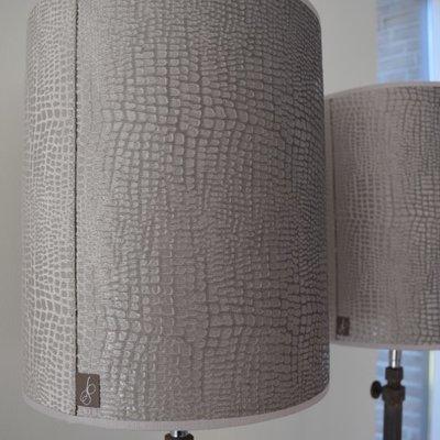 Cilinderkap Croco-velvet